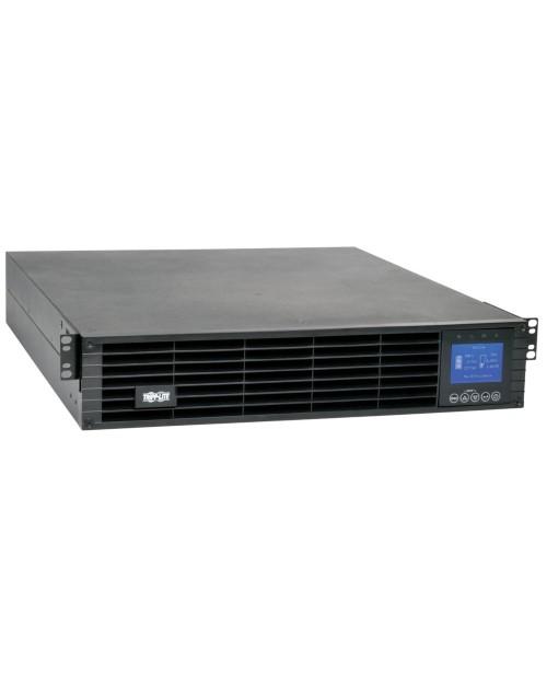 SUINT2200LCD2U ИБП с двойным преобразованием 208/230В; 2200 ВА; 1.98 кВт, 9 розеток, ЖК-дисплей, 2U