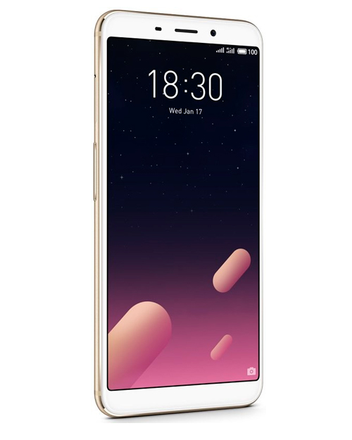 Смартфон Meizu M6s 3+64G Gold - фото 2