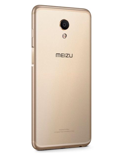 Смартфон Meizu M6s 3+64G Gold - фото 3