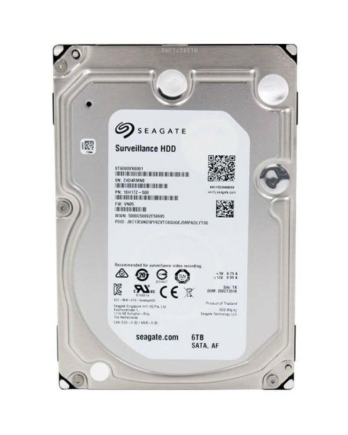 Seagate ST6000VX0003 Жесткий диск для систем наблюдения 6 ТБ, 3,5