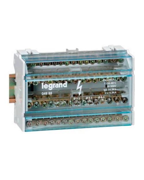 Legrand 004885 Мод.расп.бл.4пх13 контк.40А - фото 1