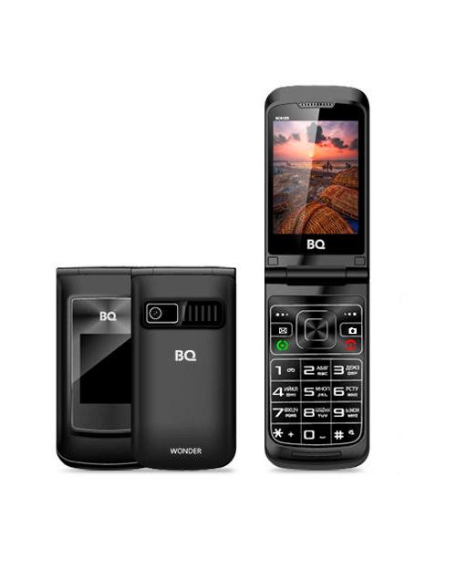 Мобильный телефон BQ-2807 Wonder Чёрный - фото 1