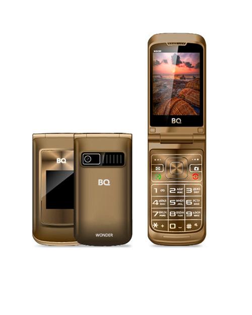 Мобильный телефон BQ-2807 Wonder Коричневый - фото 1