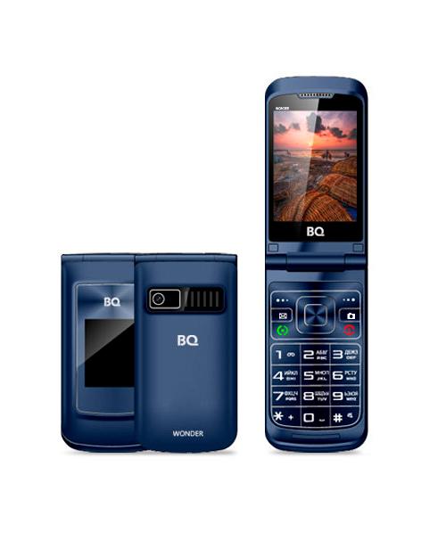 Мобильный телефон BQ-2807 Wonder Темно-Серый - фото 1