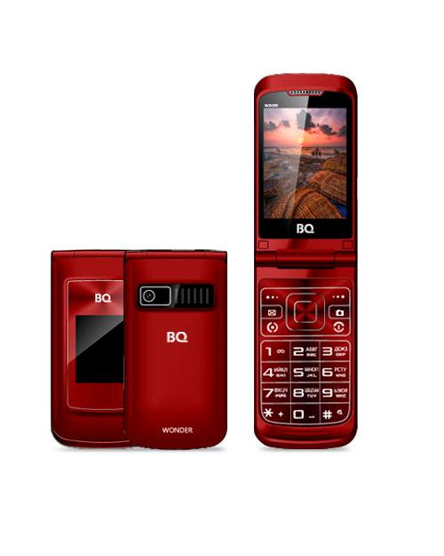 Мобильный телефон BQ-2807 Wonder Красный - фото 1