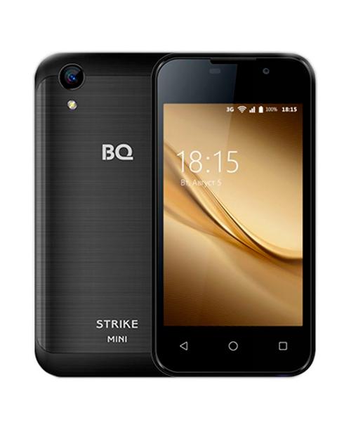 Смартфон BQ-4072 Strike Mini Черный Шлифованный - фото 1