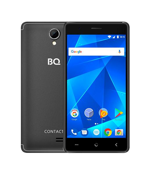 Смартфон BQ-5001L Contact Чёрный - фото 1
