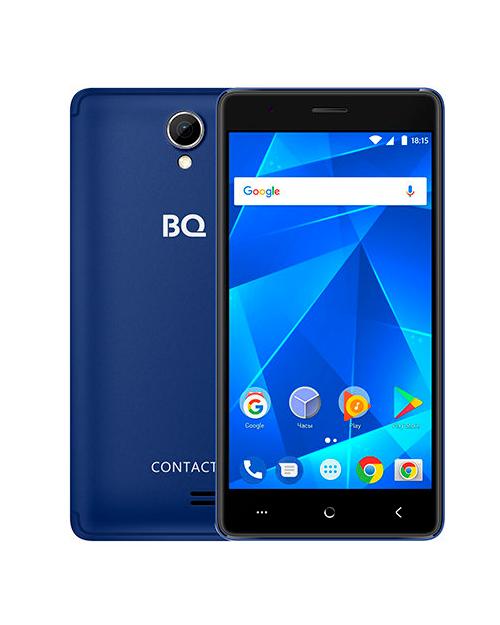 Смартфон BQ-5001L Contact Темно-Синий - фото 1