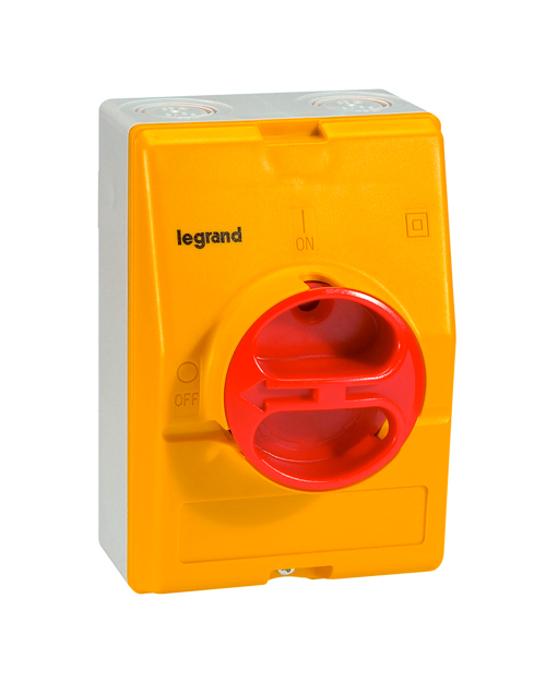 Legrand 022173 Выключатель дистанцион. 3П 25А в боксе IP65