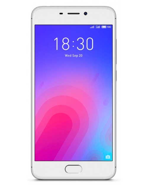 Смартфон Meizu M6 2gb/16GB silver - фото 1