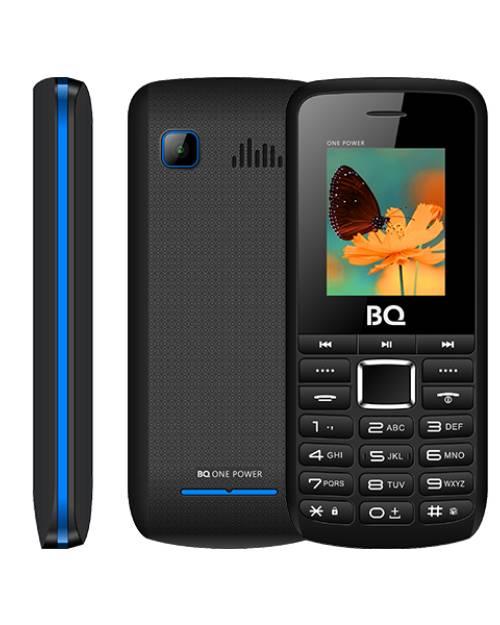 Мобильный телефон BQ 1846 One Power чёрный+синий - фото 1