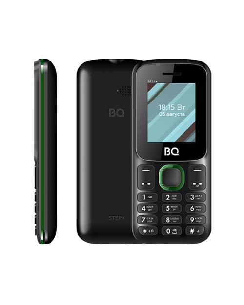 Мобильный телефон BQ-1848 Step+ black+green