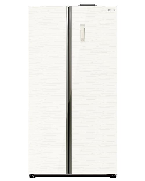 Холодильник SKYWORTH SBS-545WPG - фото 1