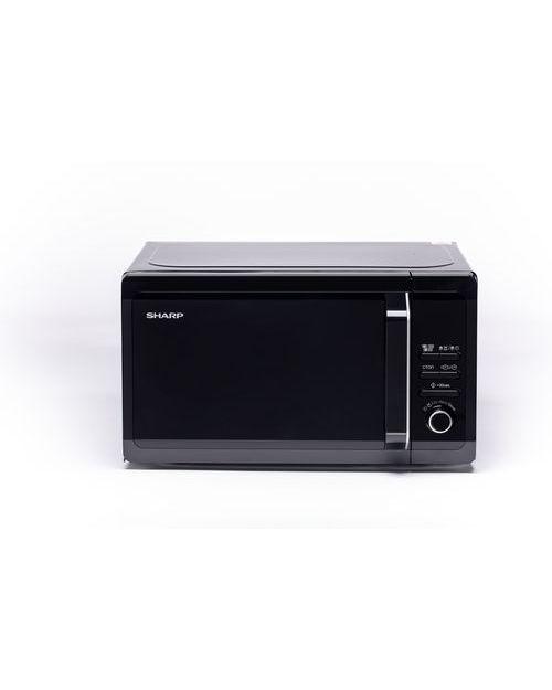 Микроволновая печь Sharp R6852RK с грилем, black - фото 1