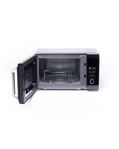 Микроволновая печь Sharp R6852RK с грилем, black - фото 4