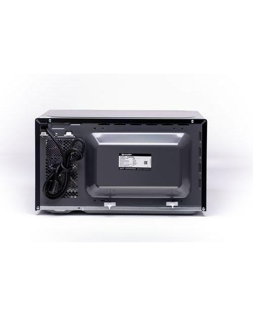 Микроволновая печь Sharp R6852RK с грилем, black - фото 5