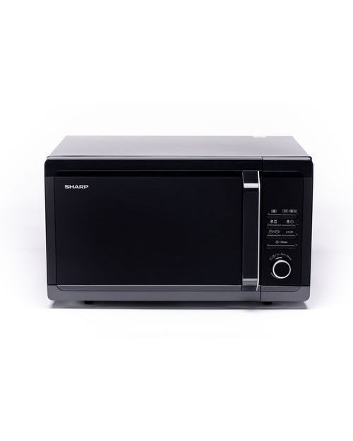 Микроволновая печь Sharp R7852RK с грилем, black - фото 1
