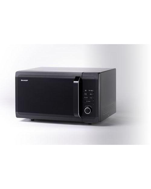 Микроволновая печь Sharp R7852RK с грилем, black - фото 2