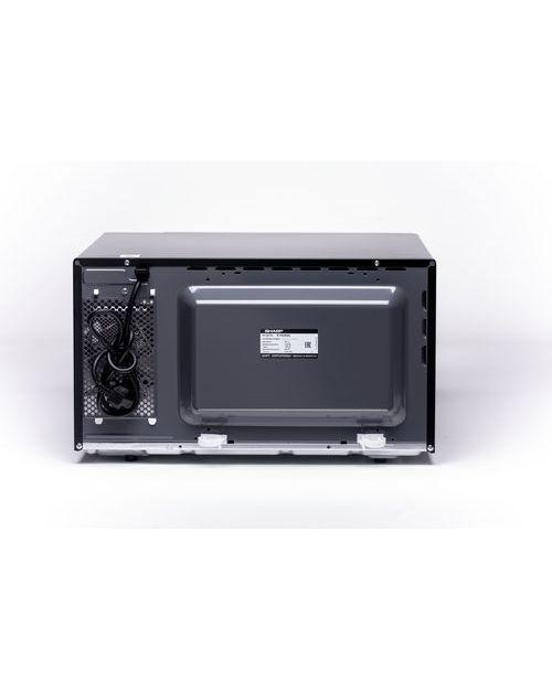 Микроволновая печь Sharp R7852RK с грилем, black - фото 4